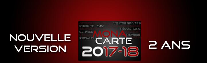 MonaCarte 2017 : Votre fidélité récompensée