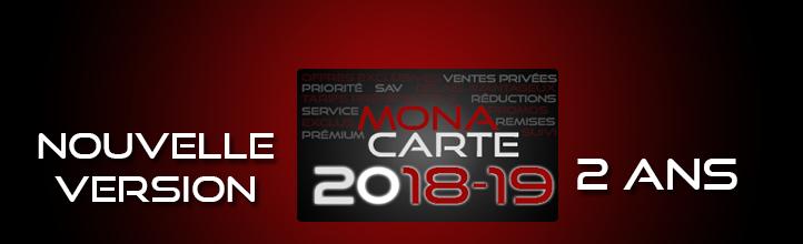 MonaCarte 2018-2019 : Votre fidélité récompensée